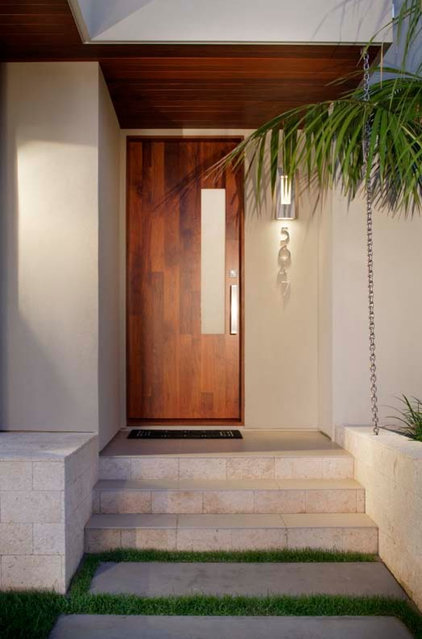 modern entry by KW Designs