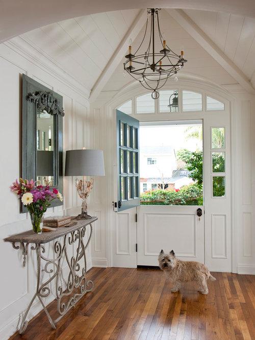 Example Of A Classic Dutch Front Door Design In San Diego