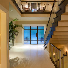 Contemporary Entry by Dominick Tringali Architects