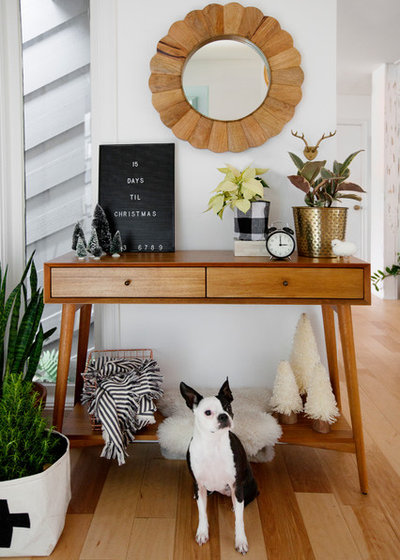 Midcentury Entry by Margaret Wright Photography
