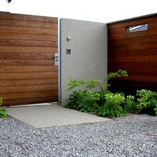 Modern Entry by Blasen Landscape Architecture