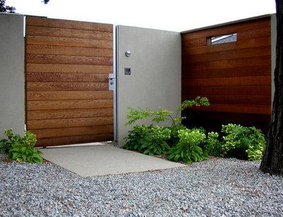 Modern Entry by Blasen Landscape Architecture
