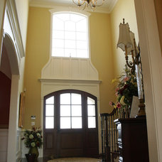 Traditional Entry by J. Hall Homes, Inc.