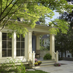 traditional exterior by Merrick Design & Build Inc