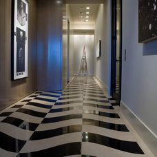 Modern Entry by Susan Newell Custom Home Builder, Inc.