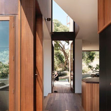 Contemporary Entry by Auhaus Architecture