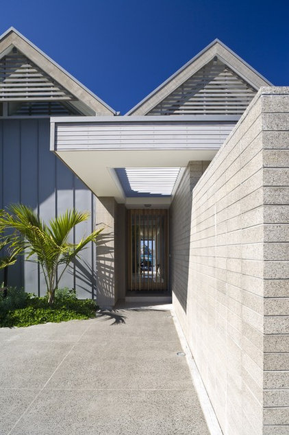 Contemporary Entry by jessop  architects