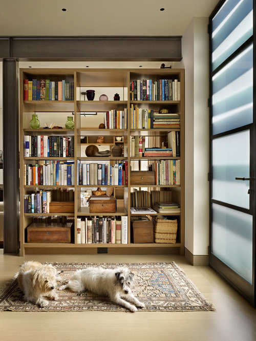Bookshelf as room divider houzz - What did the wall say to the bookcase ...