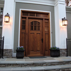 traditional front doors by Borano