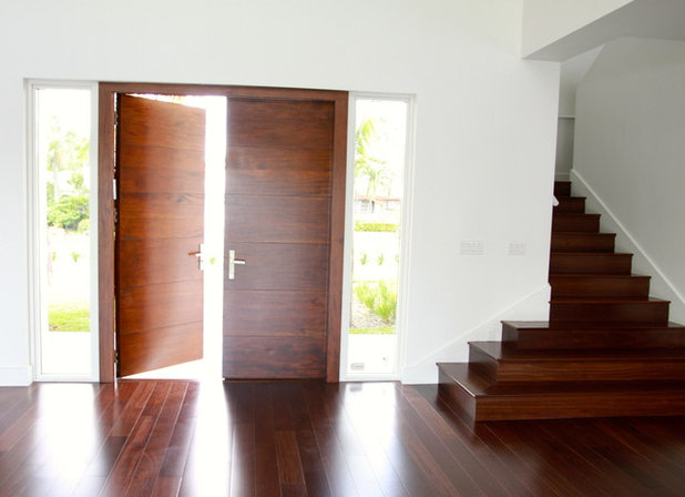Modern Entry by Custom Doors