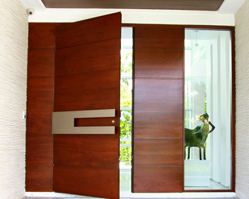 Main door design ideas pictures remodel and decor for Modern main door design