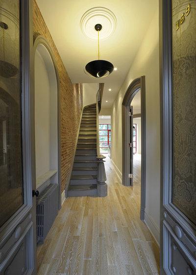 Contemporary Entry by valerie pasquiou interiors + design, inc