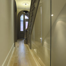 Transitional Entry by valerie pasquiou interiors + design, inc