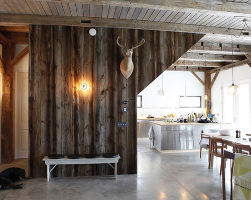 Old Barn Wood Benches Home Design Ideas Pictures Remodel