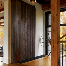 Farmhouse Entry by Moger Mehrhof Architects