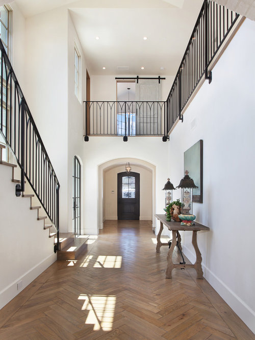 Foyer Architecture Questions : Wrought iron foyer hallway design ideas renovations photos