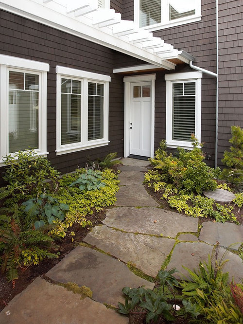 Stained Cedar Shingles Design Ideas Amp Remodel Pictures Houzz