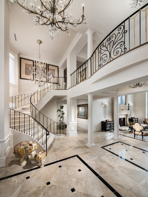 Transitional ottawa entryway design ideas remodels photos for Transitional foyer ideas