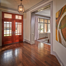 Traditional Entry by Thompson Custom Homes