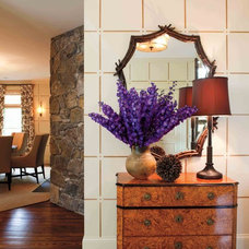 Traditional Entry by David Scott Interiors