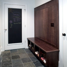 Eclectic Entry by Platinum Kitchens