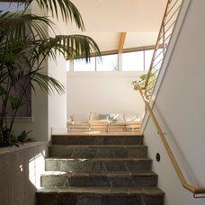 Modern Entry by Robert Nebolon Architects