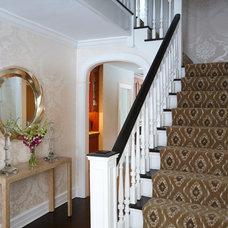Transitional Entry by Evelyn Benatar, New York Interior Design