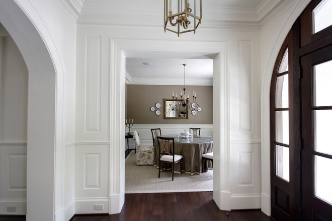 Transitional Entry by Castro Design Studio