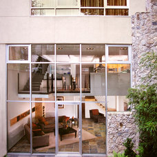 Contemporary Entry by Eisner Design LLC