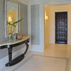 Traditional Entry by BROWN DAVIS INTERIORS, INC.