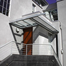 Modern Entry by Robert Nebolon Architects