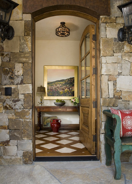 Rustic Entry by Slifer Designs