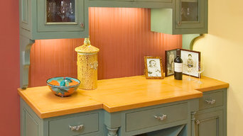 Built-in Cabinet with Wine Storage