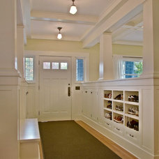 Traditional Entry by J.A.S. Design-Build