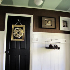 Eclectic Entry by The Painted Home