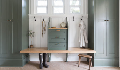 Mudroom Makeover Offers Clutter-Free Charm