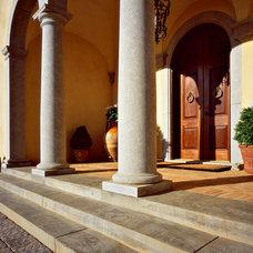 Mediterranean Entry by Bushman Dreyfus Architects