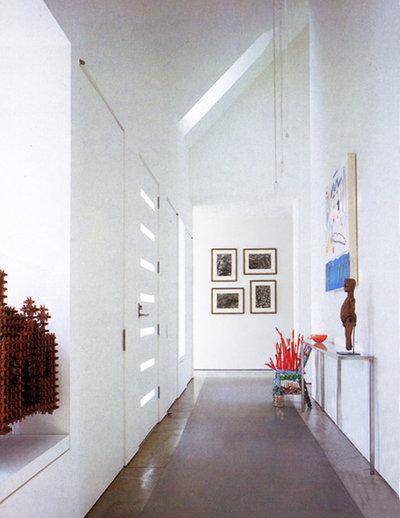 Modern Entry by Bushman Dreyfus Architects