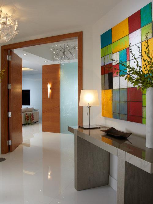 Vestibule contemporain photos et id es d co de for Amenagement vestibule maison