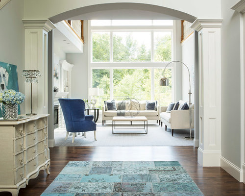 Interior Columns entryway interior columns | houzz