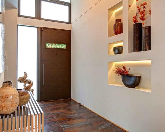 Wall Niche Decor hallway niche | houzz