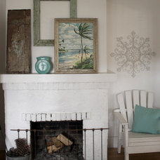 Eclectic Entry California Cottage Comfort