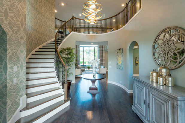 Transitional Entry by Elegant Concept Interiors