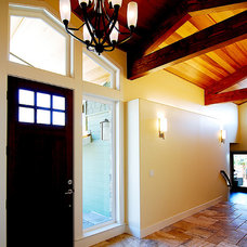 Traditional Entry by Odenwald Construction Company