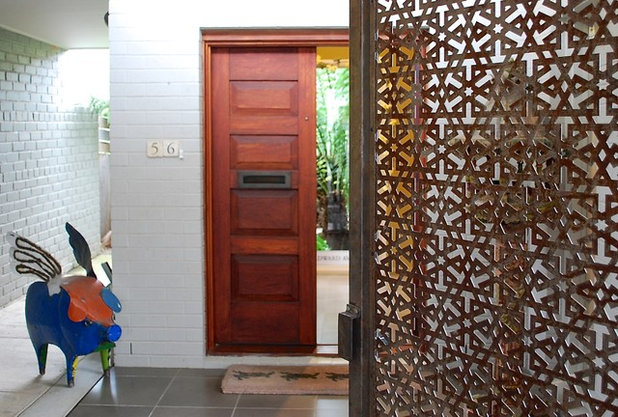 Contemporary Entry by Luci.D Interiors