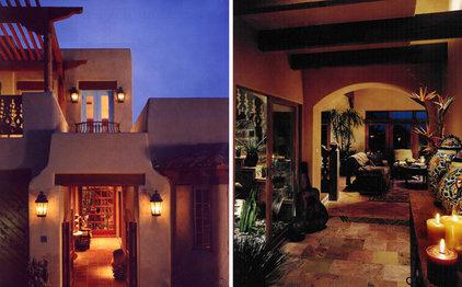 Mediterranean Entry by Candelaria Design Associates
