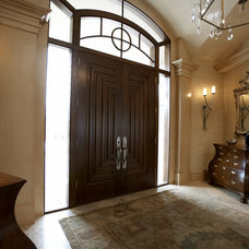 Traditional Entry by SKD Architects