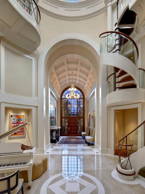 Houzz Foyer Paint : Vaulted foyer houzz