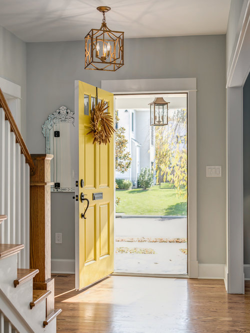 Foyer Decorating Ideas Houzz : Houzz craftsman entryway design ideas remodel pictures