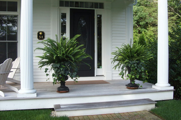porch life 12 ways to beautify a porch with plants. Black Bedroom Furniture Sets. Home Design Ideas